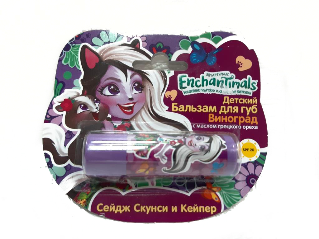 ENCHANTIMALS БАЛЬЗАМ ДЛЯ ГУБ
